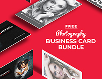 Photography Business Card Bundle FREE