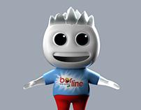 3D Detergent Character