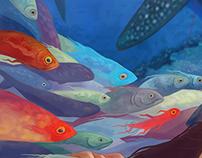 Дары моря \ детская иллюстрация
