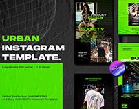 Urban Neon Instagram Posts & Stories