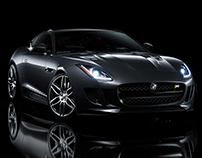 Jaguar F-Type - CGI & Retouching