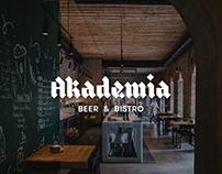 Akademia Beer&Bistro (identity)