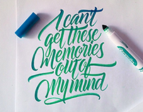 Crayola & Brushpen Lettering Set 2