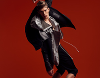 DARKER THAN BLACK / April Issue Elegant magazine