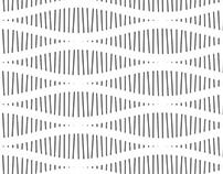 Sinus wave lines (PatterNodes pattern)
