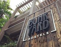 Bunkyard Hostels | Logo & Identity Design