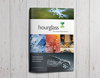 Hourglass Research - Brochure Design