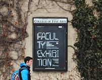 2015 Faculty Exhibition