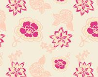 Lotus Floral Print