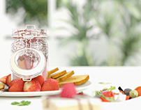 CGI Food Rendering - Photographic Approach