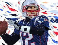 Adobe DRAW : NFL series - Tom Brady 2
