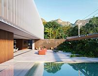 Brazilian style villa
