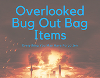 Overlooked Bug Out Bag Items – Everything You May Have