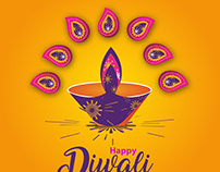 Diwali festival vector download