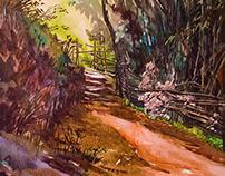 Watercolor Plein Air_China