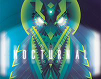 Nocturnal Music Festival Poster