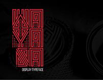 Typeface | Wayana