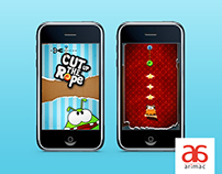 Cut Up the Rope | Game UI Designs