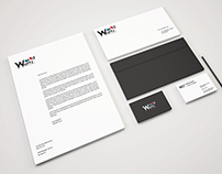 WorldWaltz Logo and Stationary Design
