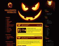 Halloween Webblog WordPress Theme