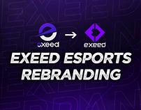 Exeed Esports Rebranding