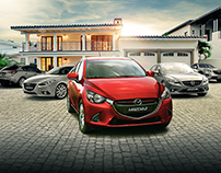 mazda - full range - family