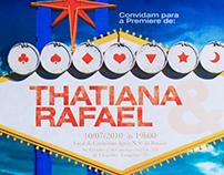 Wedding [ Invitation ] in Las Vegas - Thaty & Rafa