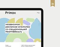 Primax digital agency web site