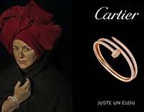 Inspired by the Cartier Juste un Clou collection