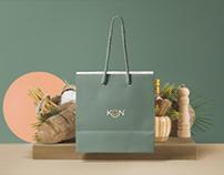 KON Restaurant - Branding
