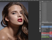HIGH END BEAUTY SPEED RETOUCHING CAPTURE 1 & PHOTOSHOP