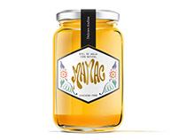 Diseño de Logo e imagen de marca, Miel MAMAC
