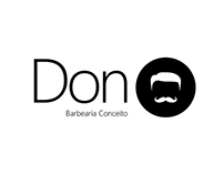 Logotipo Don Barbearia
