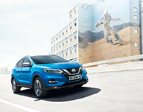 Nissan Qashqai with Nick Meek