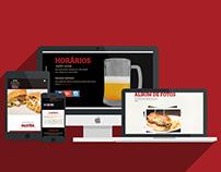 Pastelaria & Boteco 863 - Website