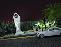 Mercedes-benz golf event
