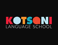 Language School logo design, graphic content & website