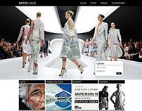 DeCollage Website