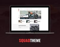 Squad magazine Psd