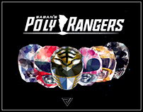MIGHTY MORPHIN POLY RANGERS || Proyecto Personal