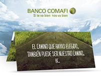 Banco Comafi - Pieza  POP