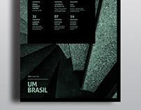 UM BRASIL | Boletim+Cartaz