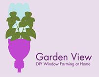 Garden View DIY Window Farming at Home