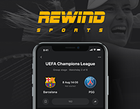 Rewind - Events, Bets, Chat bot