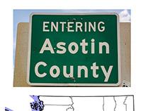 Two Highways Through Asotin County, Washington