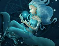 Light under water