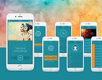 Music App UI for Mobile