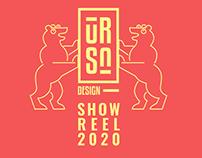 URSA DESIGN // SHOW REEL 2020
