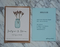 wedding stationery | invitation & escort cards