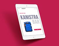 Kanistrabar | Landing page